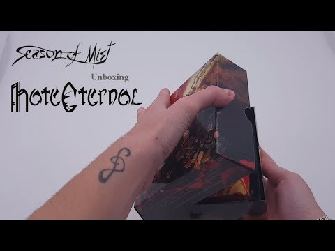 Hate Eternal - Unboxing limited edition digibox 'Infernus'