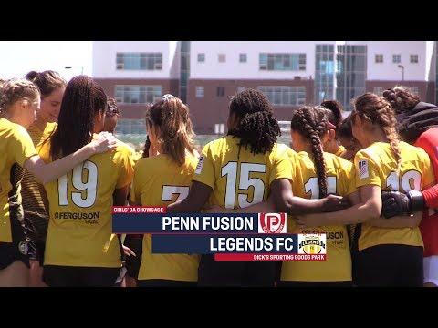 Girls' DA Spring Showcase: U-16/17 Penn Fusion Soccer Academy Vs. Legends FC