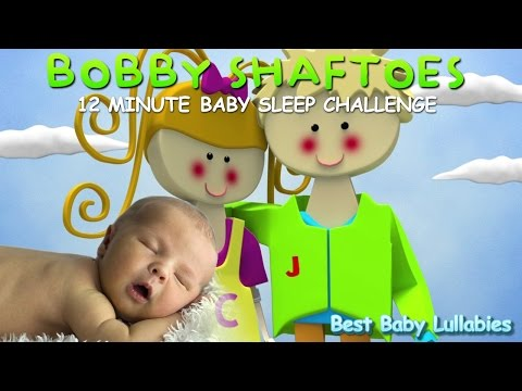 ♥ Animated 15 Minute Nursery Rhymes Songs To Put A Baby To Sleep Lyrics  Lullaby Bobby Shaftoe♥