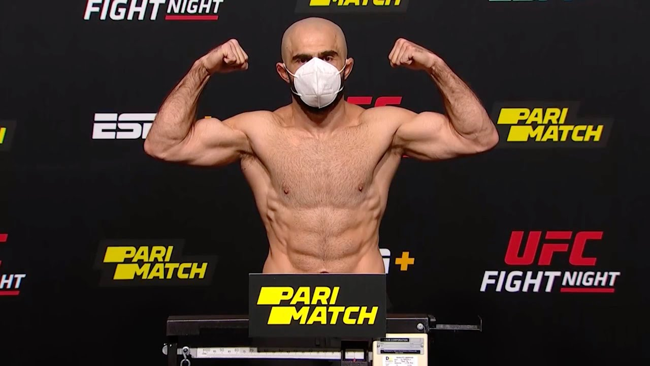 UFC Вегас 6: Льюис vs Олейник - Церемония взвешивания