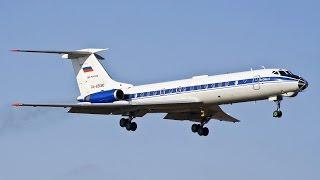 Ту-134А-3 RA-65680 Россия - ВВС Чкаловский посадка 02.2013