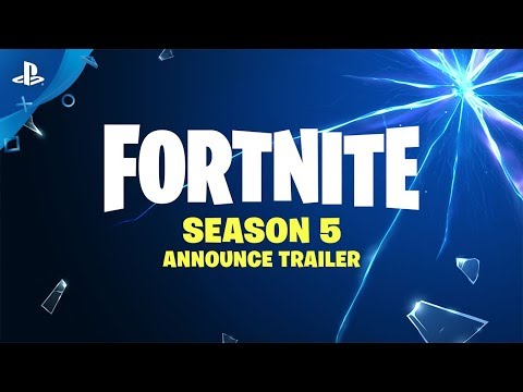 Fortnite - Season 5 Announce Trailer | PS4
