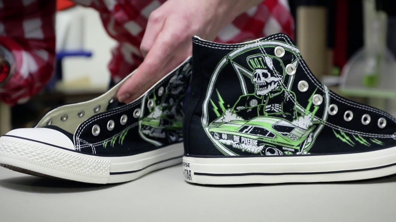 The Pixeleye Converse Chucks - Production Video