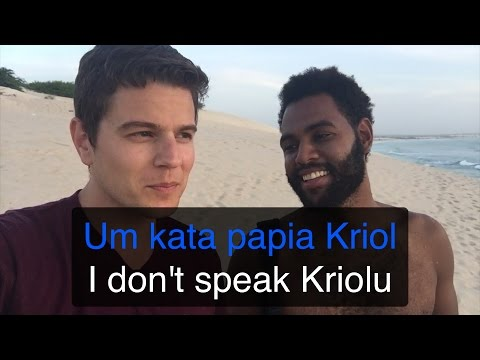 My attempt to learn some Cape Verdean Creole