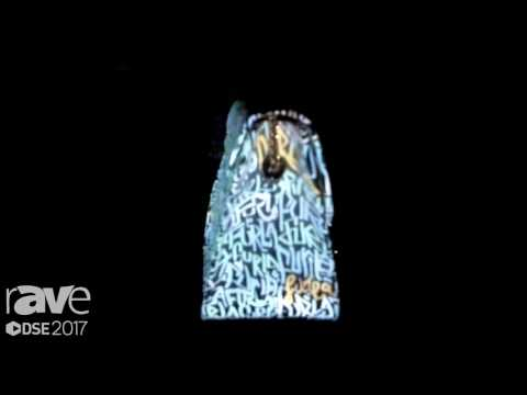 DSE 2017: Basha Media Group Demonstrates TECA Mirroring Projection Mapping Technology