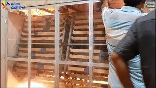 Hướng dẫn chế tạo máy ấp  12 ngàn trứng _ kênh chế tác