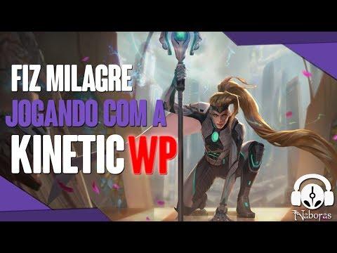 FIZ MILAGRE DE KINETIC WP - Vainglory 5v5  [UPDATE 4.8]