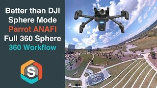 Better than DJI Sphere Mode - Take an entire sphere with the Parrot ANAFI