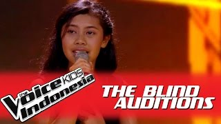 "Merylinc ""The Power of Love"" I The Blind Auditions I The Voice Kids Indonesia GlobalTV 2016"
