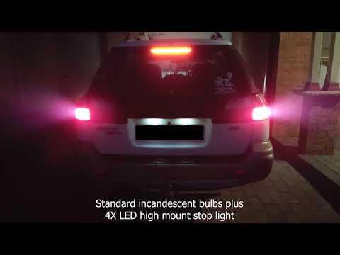 P21/5W BAY15D 1157 144 Red LED Canbus Stop Tail Brake Light Bulb