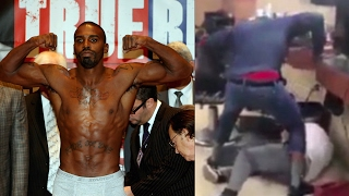 WORLDSTAR! Boxer Yusaf Mack Beats the Sh!t Out of an Internet Troll Over Homophobic Comments