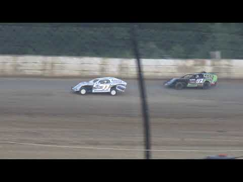 Moler Raceway Park | 7/13/18 | Fan Night | Cohen Recycling Sport Mod Heat 2