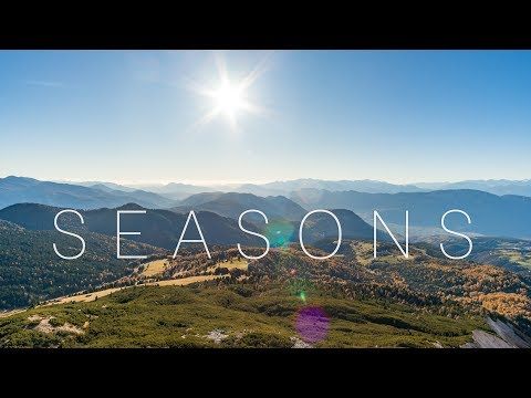 SEASONS - A Timelapse Journey through NORTH and SOUTH TYROL in 4K