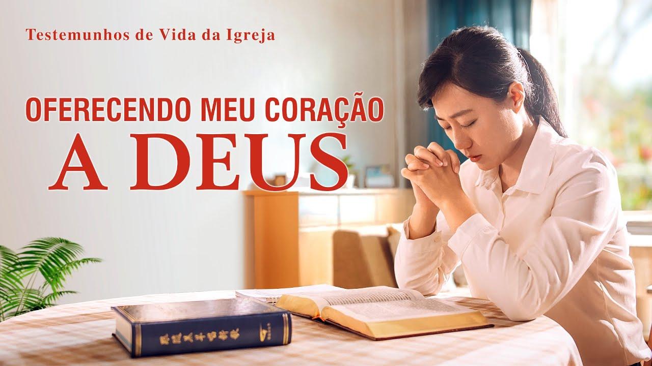 """Testemunho evangélico 2020 """"Oferecendo meu coração a Deus"""""""