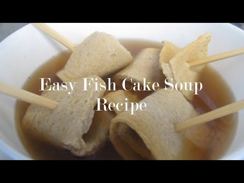 How To Cook Fish Cake Soup/Odeng Guk Using 7 Ingredients! EASY RECIPE!   Mikee Argones