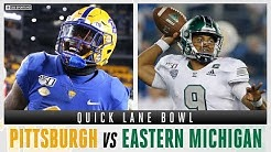 How To Bet The Quick Lane Bowl With Expert Picks: Pittsburgh vs Eastern Michigan   CBS Sports HQ