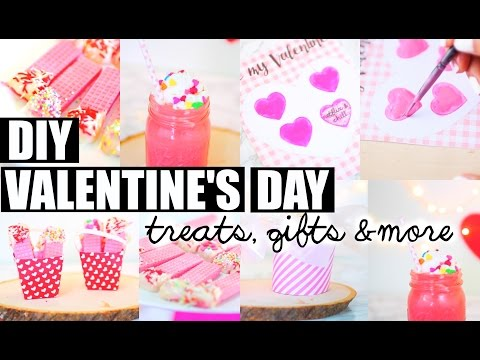 5 DIY Valentine's Day Treats, Gifts & More! | Paris & Roxy