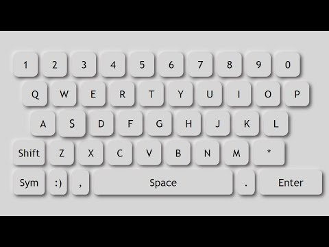 Neumorphism Keyboard With HTML And CSS | Easy Steps | By Code Info