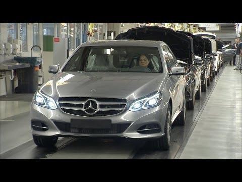2014 Mercedes E-Class PRODUCTION