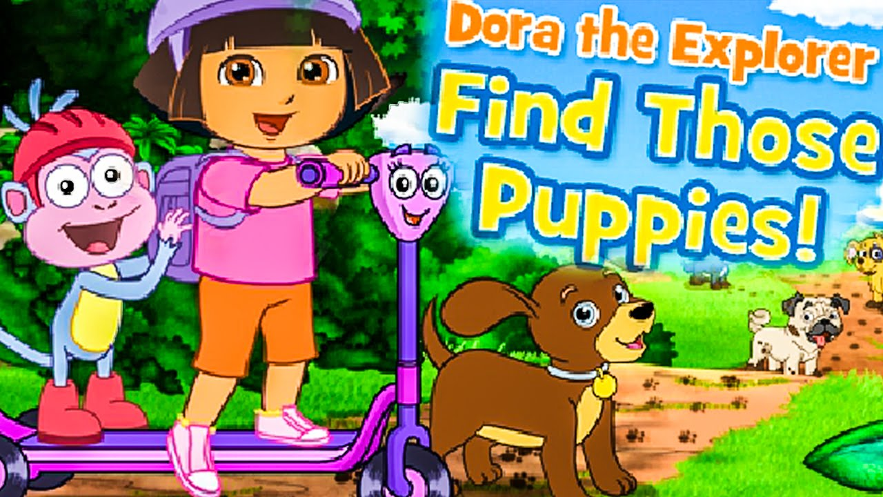 New 2016 Dora The Explorer Find Those Puppies Nick Jr