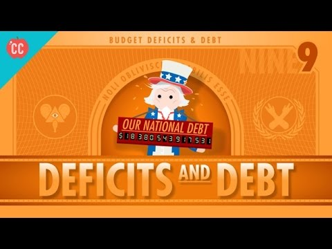Deficits & Debts: Crash Course Economics #9
