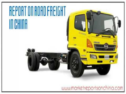 Report on Road Freight in China