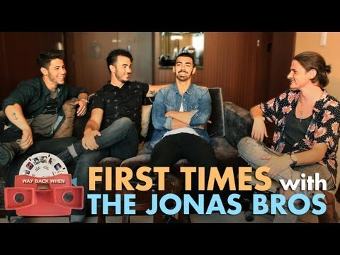 The Jonas Brothers' Embarassing First Time Stories!! | ANDPOP.com