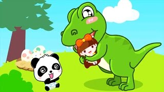 Baby Learn Words And Dinosaurs - Cute, Lovely Characters | Baby Panda Fun Game For Kids
