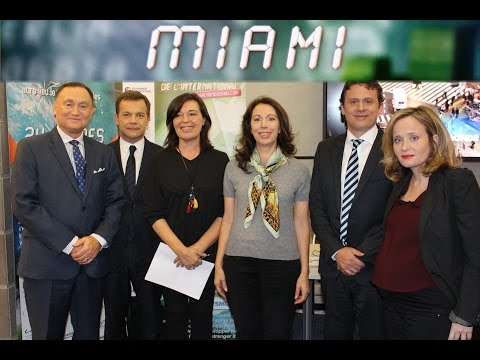 Elisabeth Gazay & Nicolas Billaud sur TV5 Monde | Barnes Miami