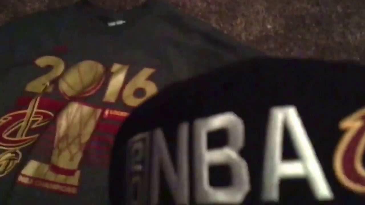 designer fashion 0ab5d 9df08 Cavaliers 2016 NBA Championship gear review