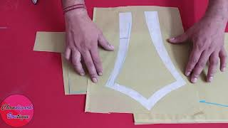 Halter Neck Design Cutting and Stitching (Easy Way)