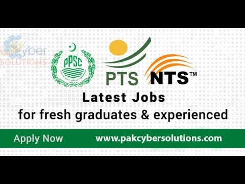 Latest Jobs In Pakistan How to fill NTS Form NTS Jobs