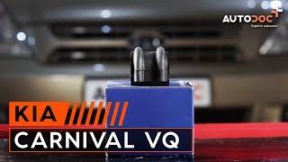 Instalar Discos de Travão dianteiro e traseira KIA CARNIVAL / GRAND CARNIVAL III (VQ): vídeo grátis