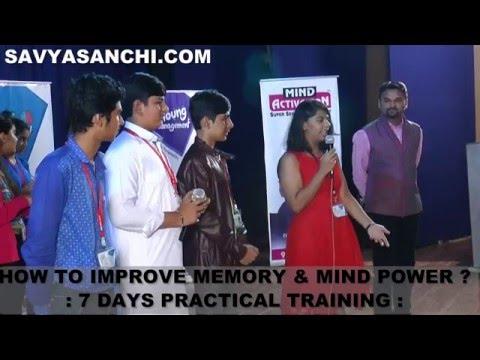 Demo After Dharmesh Pithva's Memory Improvement Program By Param Panchal Mumbai 2016