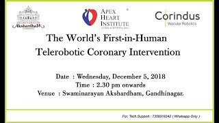 The World's FIrst-in-Human Telerobotic Coronary Intervention