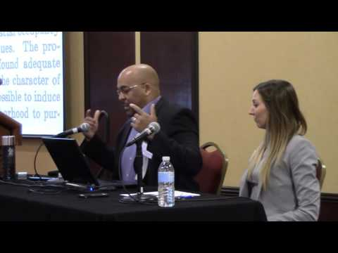 2016 Tennessee Fair Housing Conference - Dr. Louis Woods and Dr. Emily Thaden