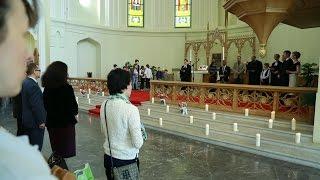 Экуменическая молитва за мир в Кафедральном соборе Свв. Петра и Павла в Москве