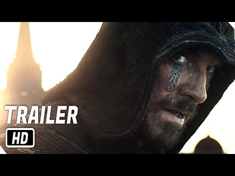 Assassin  39 s Creed Official Trailer   3      Michael Fassbender Action Movie Poster