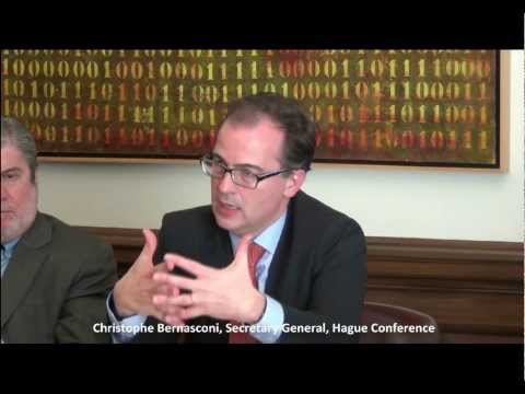 Inter-organizational Collaboration for the Advancement of Private Int. Law (Christophe Bernasconi)
