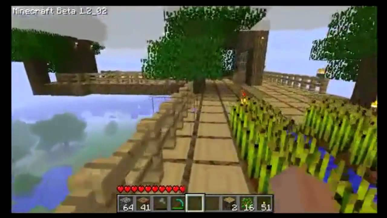 Minecraft la mia casa sull 39 albero youtube for Kit per costruire casa sull albero