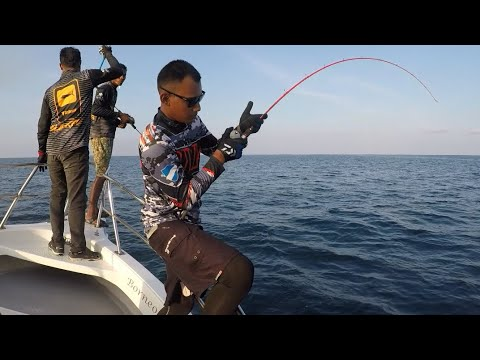 Slow Jigging  Di Semporna - Ruby Snapper/ GT / Kerapu
