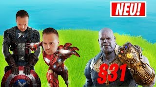 THANOS der 31er!! AVENGERS Modus in FORTNITE