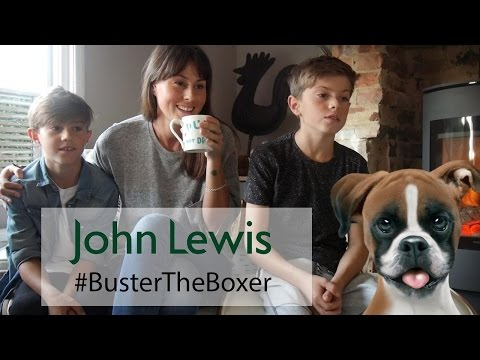 John Lewis Christmas Ad Buster The Boxer Dog | Blogger Reaction|#bustertheboxer