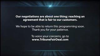 Spectrum/Tribune Broadcasting January 2019 carriage dispute message (WGN America - Version 1)