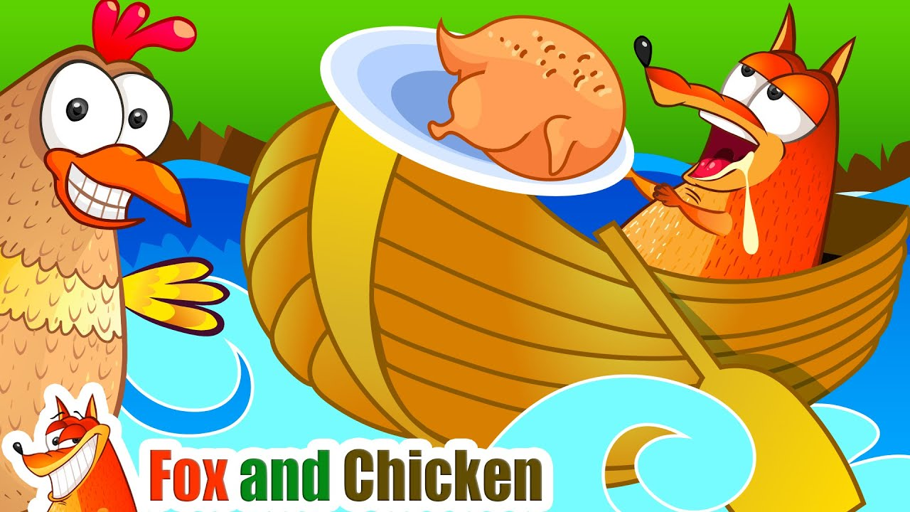 Row Row Row Your Boat | Sing-Along Nursery Rhymes Songs for Kids by Fox and Chicken