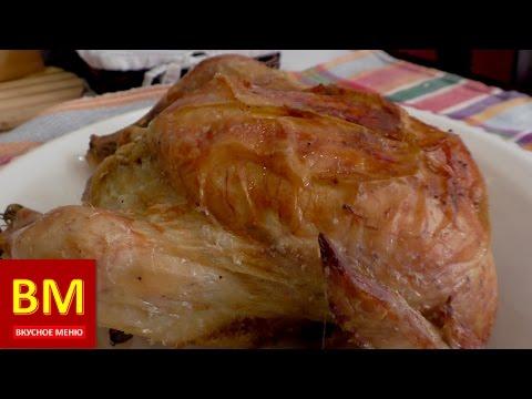 пошаговый рецепт фаршированной курицы в духовке