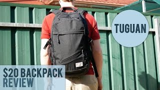 TuGuan $20 Backpack with a USB port Review