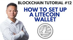 Blockchain Tutorial #12 - How To Setup A Litecoin Wallet