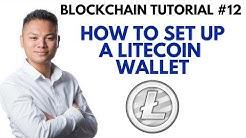 Blockchain Tutorial #12 - How To Setup A Litecoin Wallet