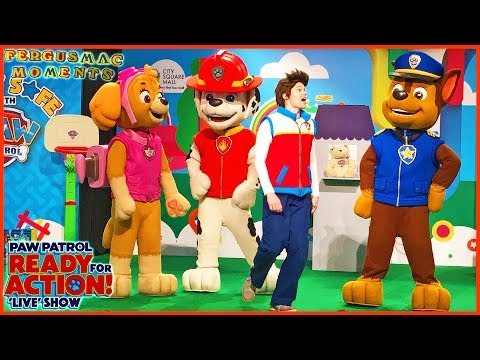 PAW PATROL LIVE SHOW with SKYE CHASE MARSHALL and RYDER at City Square 2017